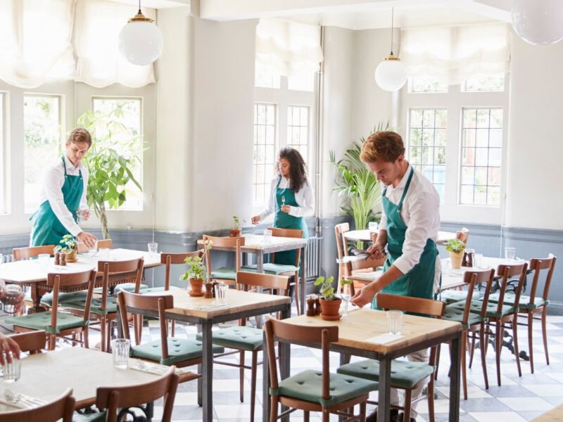 Umsatz bei Cateringunternehmen in Deutschland während Corona